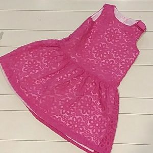Dressed up by Gymboree size 5T pink party dress